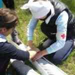 Зональный этап областной военно-спортивной игры «Зарница»